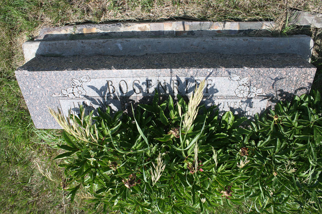Lena M. Bogenrief Grave Photo