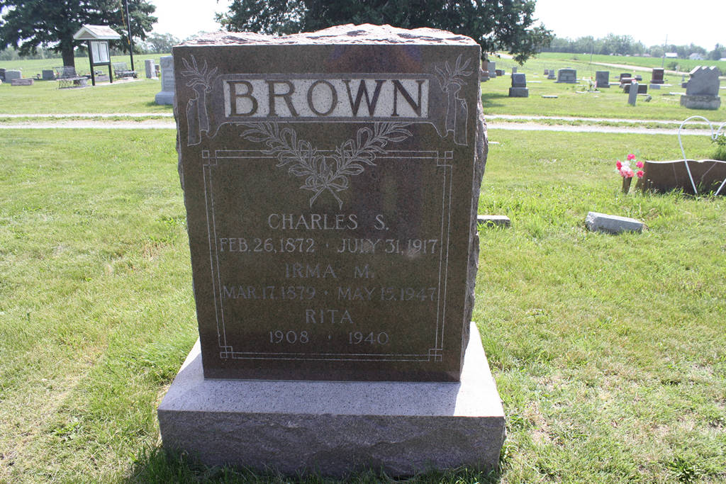 Charles S. Brown Grave Photo