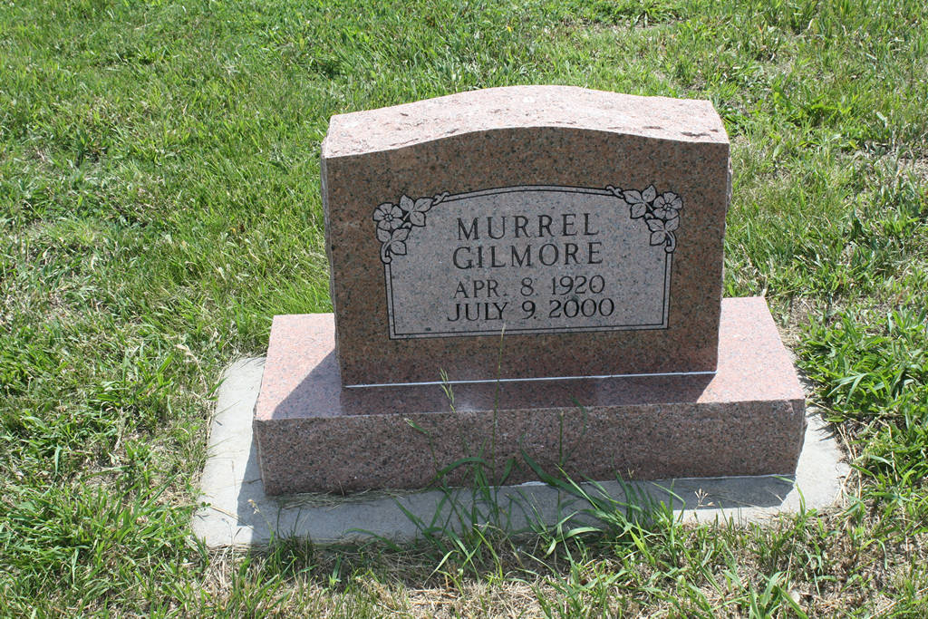 Murrel Gilmore Grave Photo