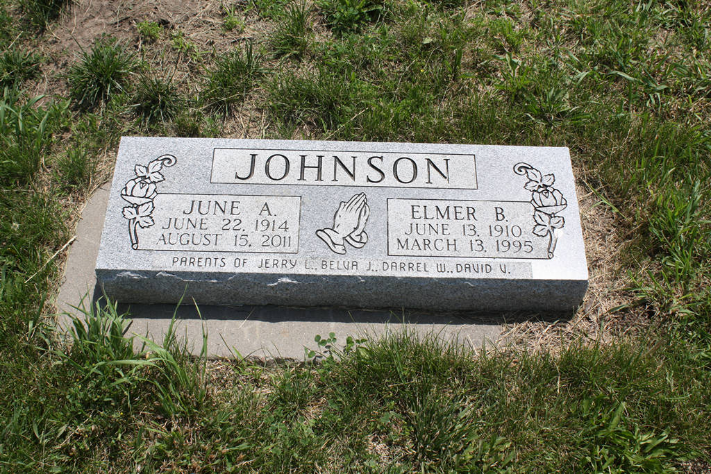 June A. Johnson Grave Photo