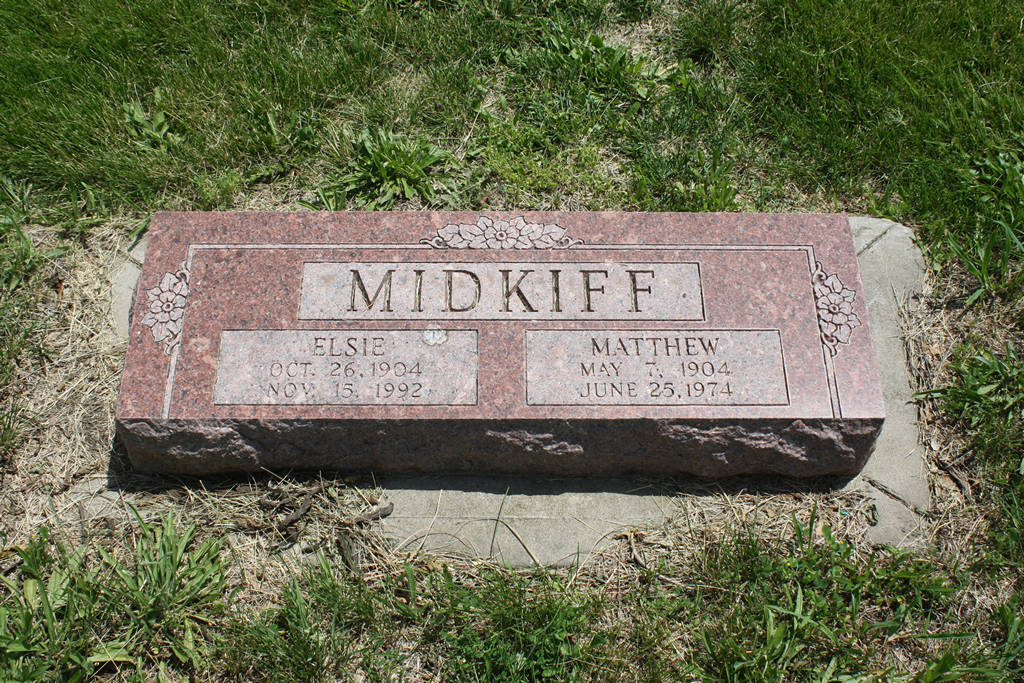 Elsie Midkiff Grave Photo