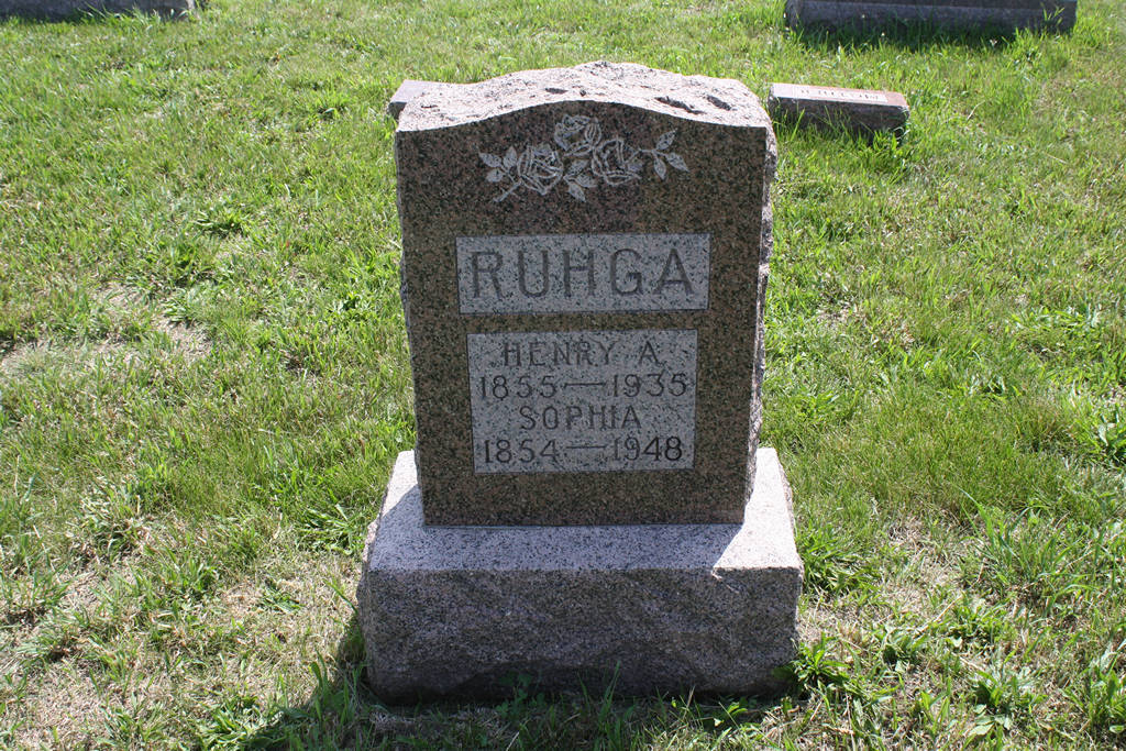 Henry A. Ruhga Grave Photo