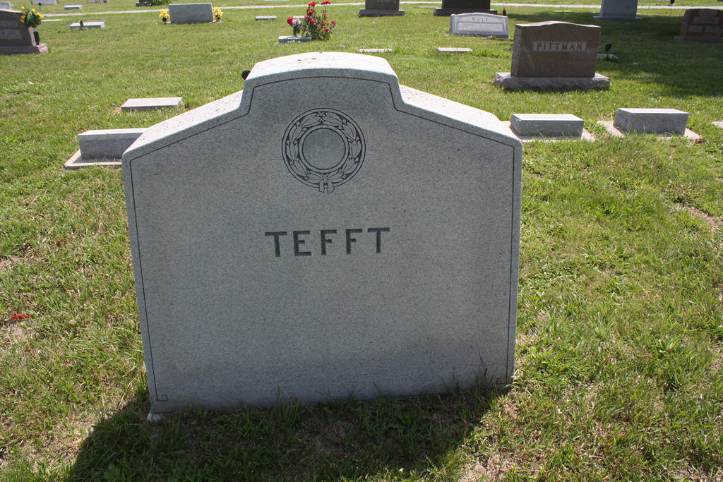 Elizzie H. Tefft Grave Photo