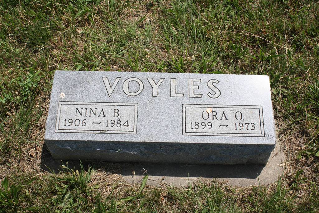 Ora O. Voyles Grave Photo